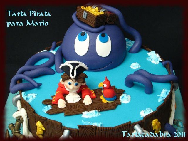 Tartacadabra: Tarta de piratas: yo ho yo ho, un gran pirata soy ;-)
