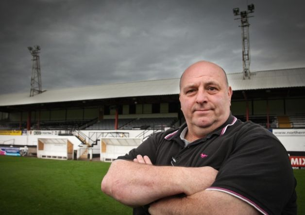 Another plea: Chorley vice-chairman and secretary Graham Watkinson