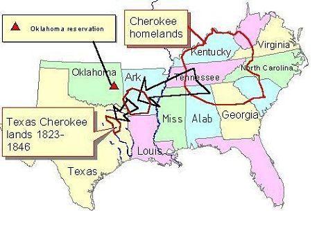 cherokee homelands