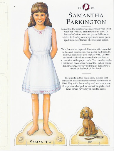 American Girl Samantha Paper Dolls.This From Freebird583 - MaryAnn - Picasa Web Albums