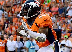Report: Broncos cut T.J. Ward