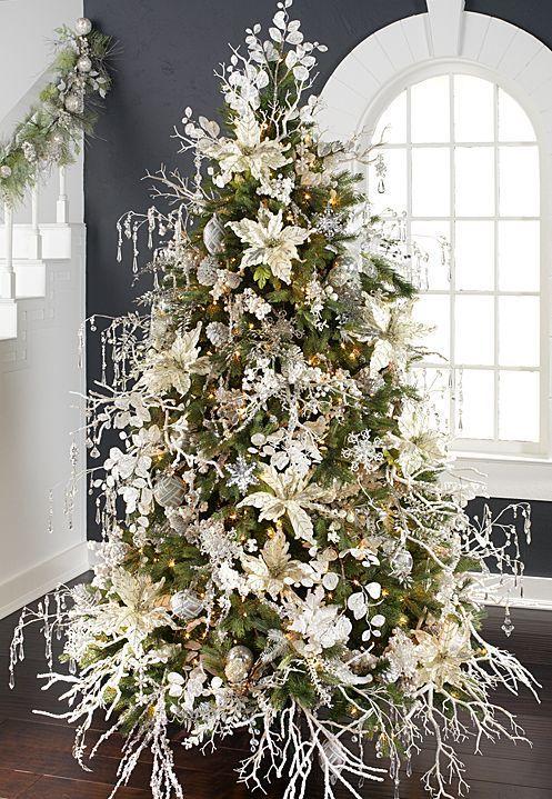 2014 Arctic Palace Tree by RAZ Imports