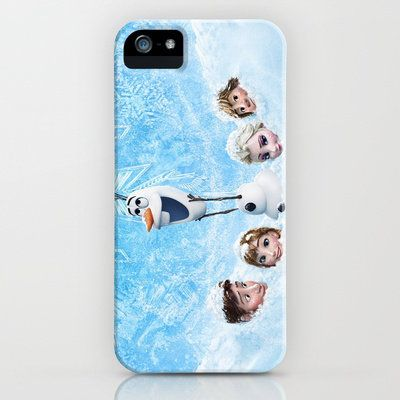 FUNNY OLAF FROZEN PRINT ON HARD CASE FOR IPHONE , IPOD , IPAD & SAMSUNG S4