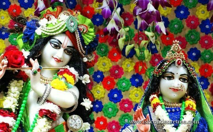 Radha Krishna Close Up