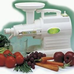 Green Star 5000 Elite – This model 5000 and the Green Star 2000 are our top sellers. If the 5000 is out of your budget please consider the Green Star 2000 as it juices just the same as the 5000 for less money and is a heavy duty juicer. Check out our site for all our Juicers.