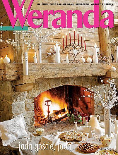Okładka magazynu Weranda 1/2013 rok www.weranda.pl