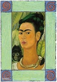 Great website about Frida Kahlo's work and their interpretations.