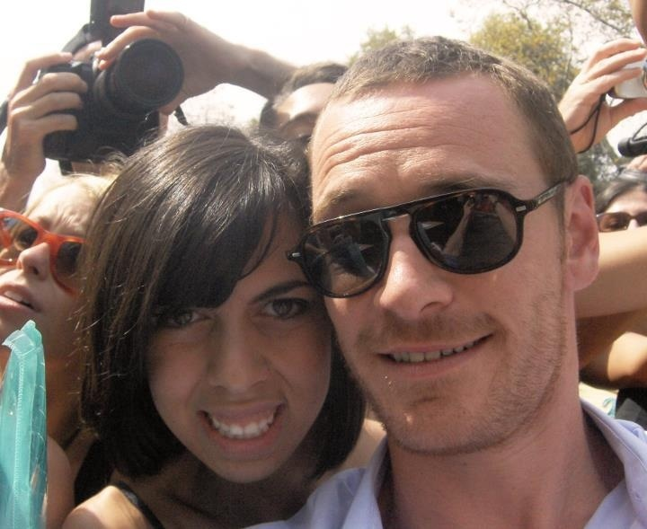 Me and Michael Fassbender