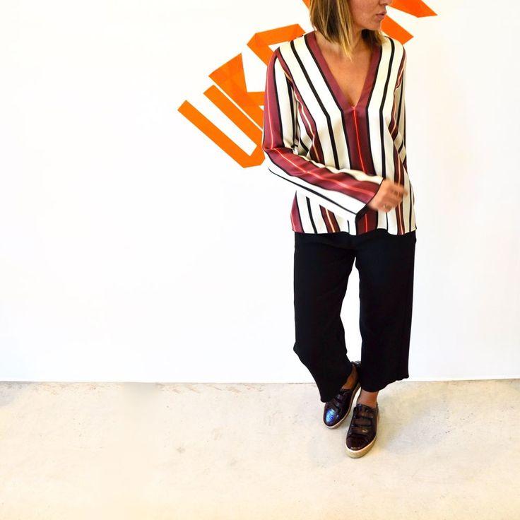 Smits Studio - gestreepte blouse