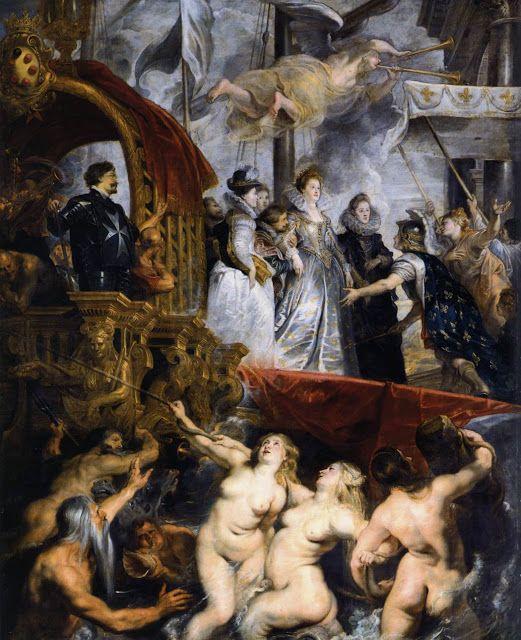 Η βασίλισσα Marie de Medici φθάνει στη Μασσαλία. (1623-25)