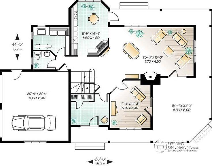 7 best Lindor images on Pinterest Cottage home plans, Cottage - plan maison etage m
