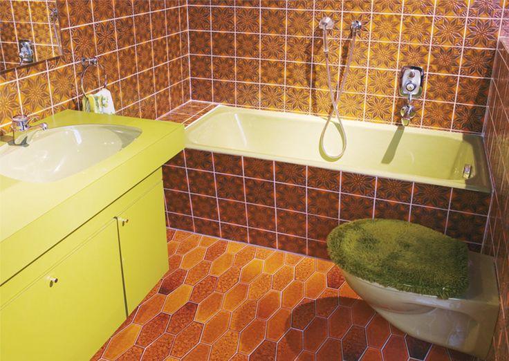 Bathroom From The 1970s Historic Bathrooms Pinterest