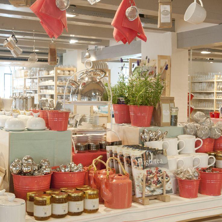 Meer dan 30 soorten thee bij Dille & Kamille