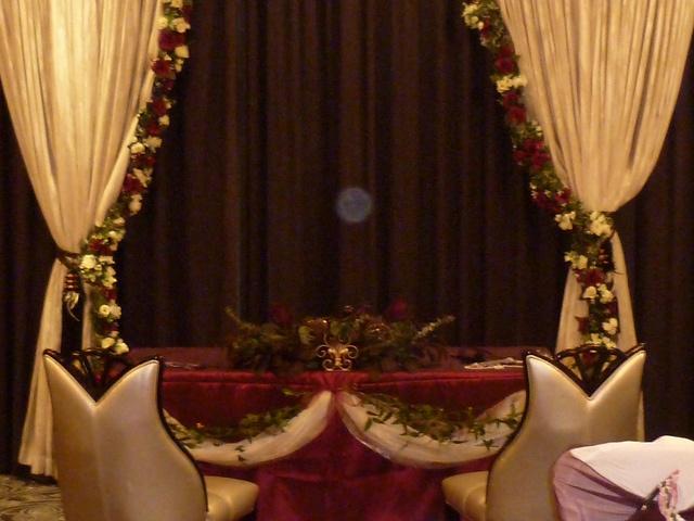 Civil Wedding Room Set Up At Pinewood Hotel Near Slough Uxbridge With Flowers
