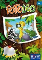 Foto Leo The Game Master Familiespel gezelschapsspel spelers 5+ recensie review dieren actief overdag nacht poten speelklaar dobbelen bel instinker spelletje belletje stapel foto herkennen eigenschappen illustraties dobbelsteen olifant kikker slang stickers ronde reactiesnelheid
