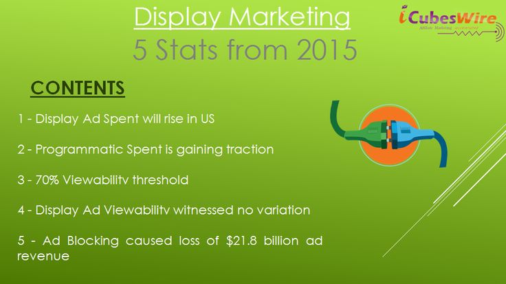 #DigitalMarketing is gaining traction because it is performance based which makes it economical. Here are 5 Stats to consider for #Display #Marketing in 2016 that built in 2015. After learning and reading all the stats experts summarize that the industry holds the potential to rise and grow in future as well.