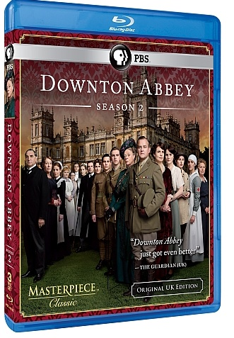 Watch both seasons of Downtown Abbey