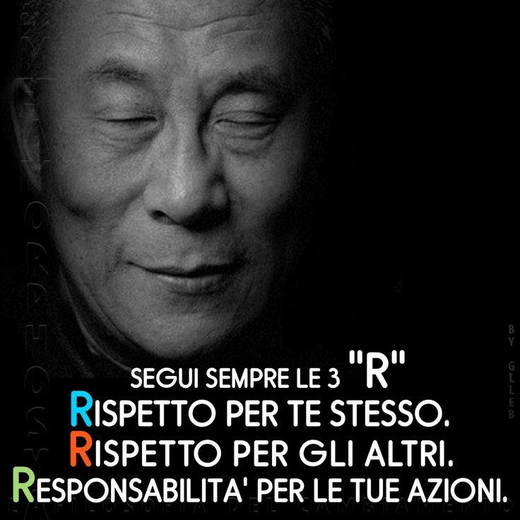 Pillole di Benessere #28... #Metamorphosya #DalaiLama #responsabilità #rispetto #lafilosofiadelcambiamento #pilloledibenessere
