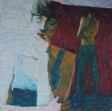 "Saatchi Art Artist Svetlana Shebarshina; Painting, ""Cried"" #art"