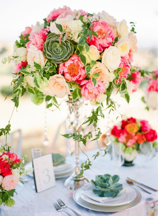 Best summer centerpieces ideas on pinterest floral