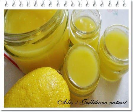 Jedlíkovo vaření: jedlé dárky - lemon curd #vanoce #darky #napady #peceni #recept #lemon