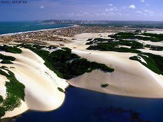 Genipabu dunas de areia - Natal Brasil                                                                                                                                                                                 Mais