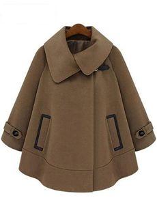 2015冬綺麗目ファッションマント トレンチコート
