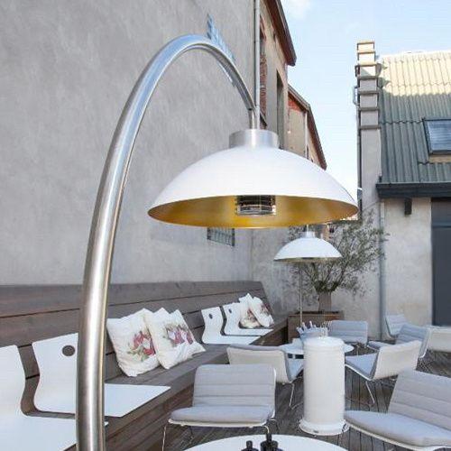 Zou het niet geweldig zijn als u de zomer kon verlengen? Dome® is een outdoor designverlichting; mét verwarmingselement voor uw tuin of terras.