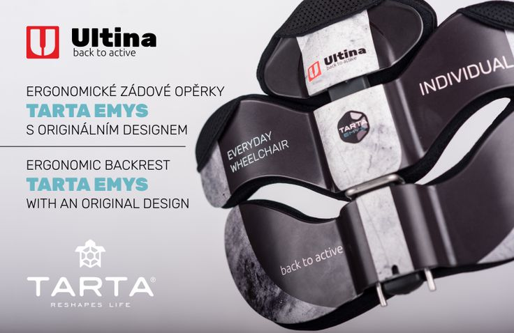 ERGONOMIC BACKREST WITH AN ORIGINAL ULTINA DESIGN