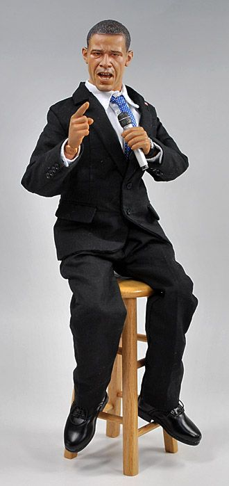 Obama action figure! DiD US Presidential Election 2008 バラク・オバマ