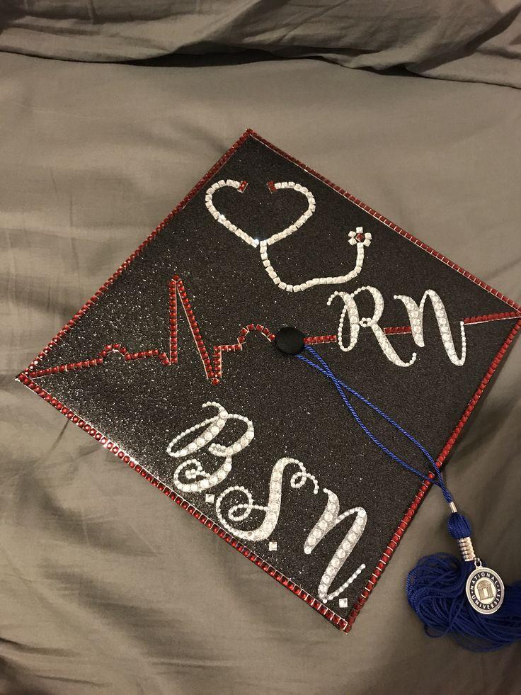 RN BSN graduation cap Bsn graduation cap, Graduation cap