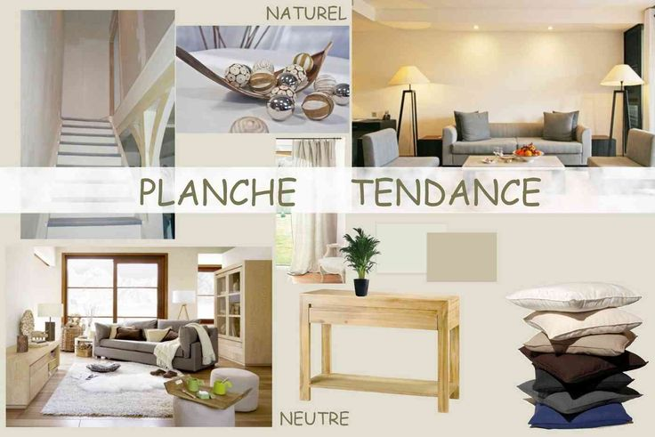 Scandinave Decoration Planche Tendance D'un Salon Nature | Planches Deco | Pinterest