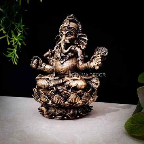 Estátua Ganesha Zen   Statue. Buddha. Buddha statue