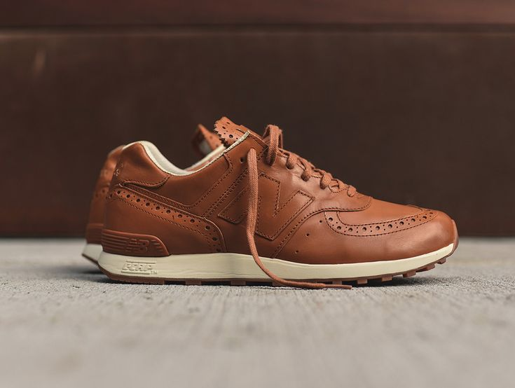 The Grenson x New Balance 576 in tan is a refined iteration of the runner which exudes sartorial flair. Find it at select New Balance stores