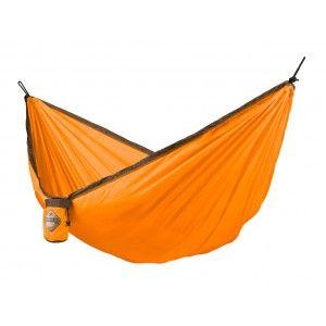 La Siesta federleichte Single-Reisehängematte COLIBRI orange