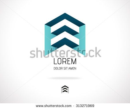 House Abstract Real Estate Countryside Logo Design Template for Company. Building Vector Silhouette.