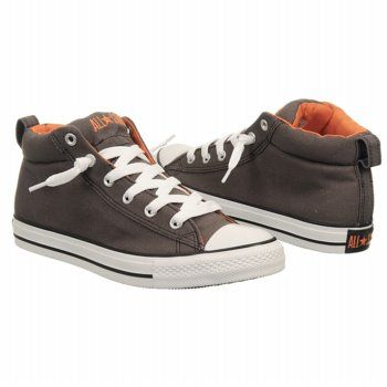 Converse All Star Mid Shoes Price: $54.99: Converse All Stars, Mid Charcoal Orange, Boys Style, Stars Mid, Conver Men, Converse Men, Men Shoes, Athletic Converse, Conver Shoes