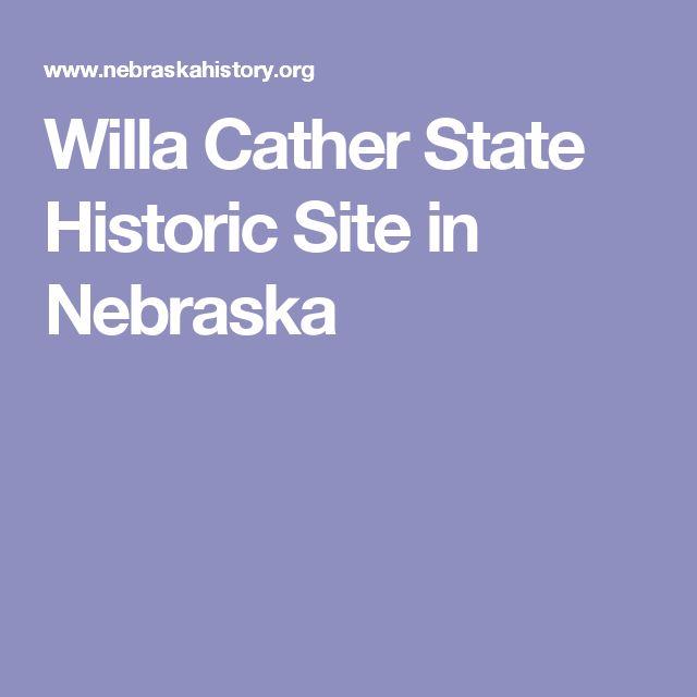 Willa Cather State Historic Site in Nebraska