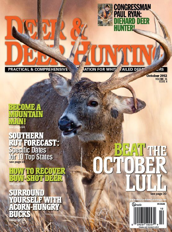 Deer & Deer hunting August 2012 issue -