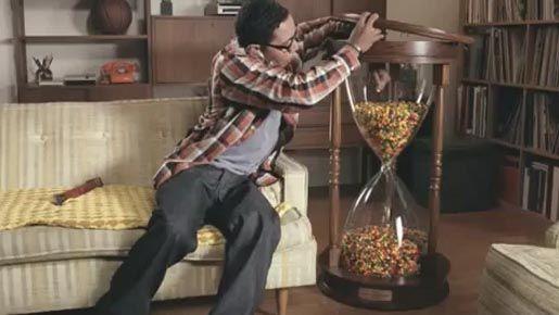Skittles Hourglass - The Inspiration Room