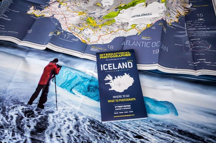 Iceland map for photographers