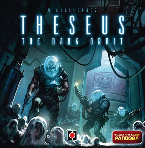 Theseus: The Dark Orbit, core Game, 7.3 BGG rating. Best with 2 Players. Age 8+. Theseus: The Dark Orbit puts players in the heart of a conflict between five factions trapped on a space station in deep space. Only one can survive...