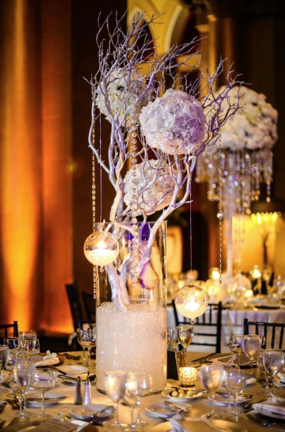 1009 best Centerpieces Bring on the Bling Crystals Diamonds