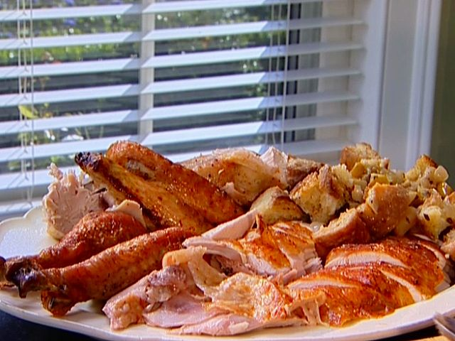 I love the turkey I've made for years but always look for new stuff to try-Perfect Roast Turkey from FoodNetwork.com