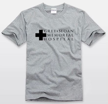 Grey's Anatomy GREY+SLOAN MEMORIAL HOSPITAL T-shirt