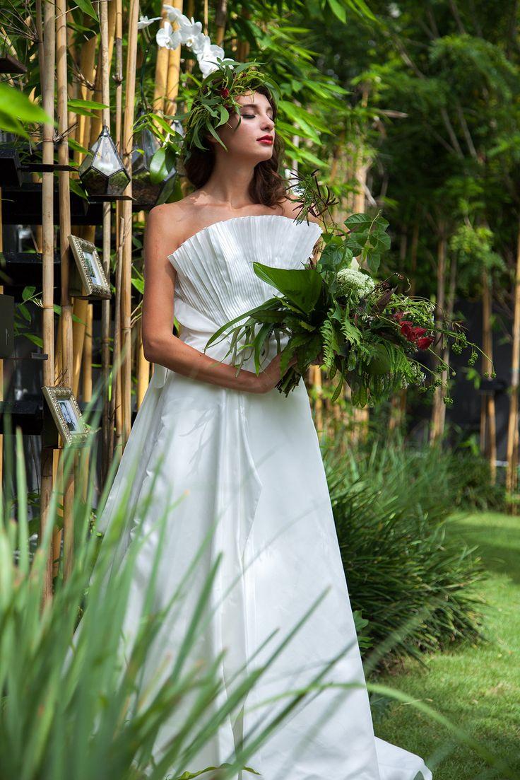 Bride in Bamboo Garden