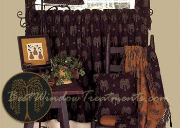 Lovely Willow Tree Tier Curtains Bathroom Window TreatmentsBathroom WindowsLiving Room