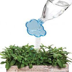 Un nuage qui transforme une bouteille en arrosoir - FrancoisCharron.com