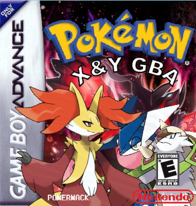Pokemon X & Y Nintendo Game Boy Advance cover artwork