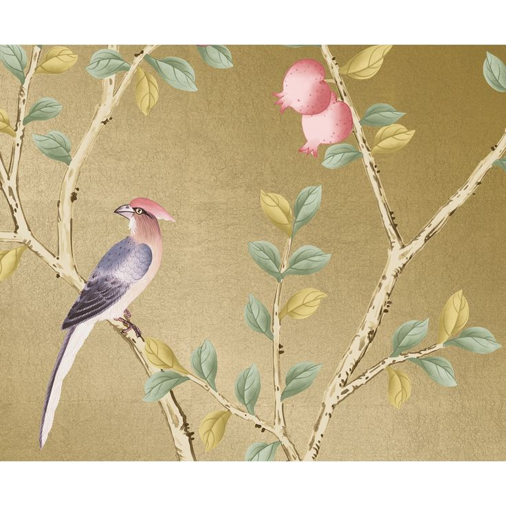 31 best images about cool pretty wallpaper on pinterest for Chinoiserie design